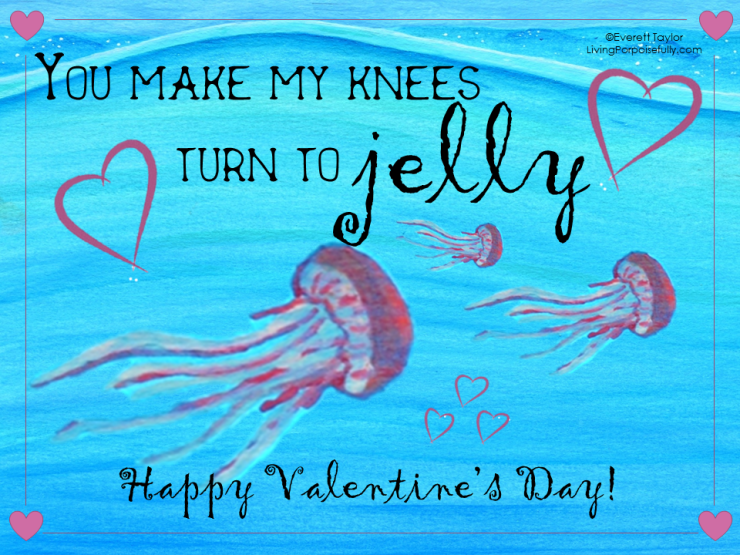 ocean valentine - you make my knees turn to jelly (color)